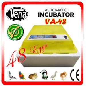 Full automatic make chicken egg incubator VA-48II for sale Manufactures