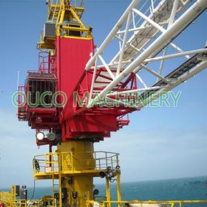 Steel 80t Lattice Boom Offshore Pedestal Crane Manufactures