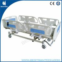 Adjustment 750mm ICU Electric Hospital Beds With 3 - Functions Home Care Use Manufactures
