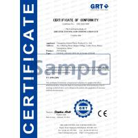 Guangzhou Getian Plastic Products Co., Ltd Certifications