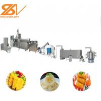 Pastry Bread Crumbs Machine Higher Production Efficiency Easy To Clean Manufactures
