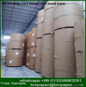 China 230 250g 300 350gram one side paper cardboard file folder for medecine box making on sale