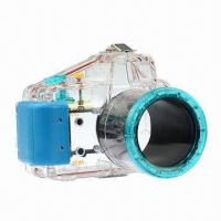Buy cheap 40m/130ft Waterproof Underwater Case Camera Housing for Diving, Sony NEX-5, 18 to 55mm from wholesalers