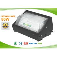 High CRI 80Ra 3030 LED Wall Pack Lights , led outdoor wall packs 80 watts Manufactures