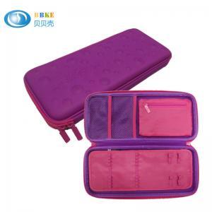China Customized Pink EVA  Pencil Case , Hard Case Pencil Case For School Kids on sale