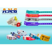 Conferences healthcare industry UHF RFID TAGS Wristband Disposable Manufactures
