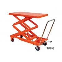 China Flexible Hand Hydraulic Lift Table Folding Joystick Structure For Wood Working on sale