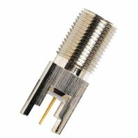 F female jack PCB mount connector made by East Electronics EE-F111 Manufactures