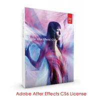 China Adobe Product Key license  Adobe After Effects CS6 Serial on sale