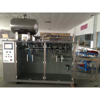 EM180G Premade Bag Packing Machine 20-60 Bags/Min Speed Stainless Steel Material Manufactures
