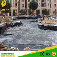 Good Sale Cheap hdpe sewage Geomembrane for waterproof Manufactures