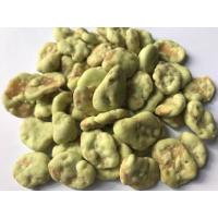 Spicy Chilli Coated Fava Beans Health Benefits Fried Foods Low Temp Saving Manufactures