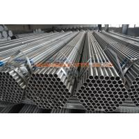 China Q235 Q345 Greenhouse Pre Galvanized Steel Tubing , ERW Steel Structure Pipe on sale