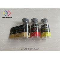 Printing Custom Waterproof Steroid Vial Labels , Self Adhesive Labels For Glass Bottle Manufactures