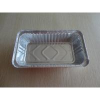 China Residential Aluminum storage container Disposable For Baking / foil cooking containers on sale