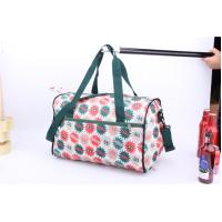 OEM High Quality Beautiful flower printing cheap luggage for travel or sports Manufactures