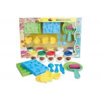 Educational DIY Modeling Play Dough Arts And Crafts Toys Set 5 Colors W / Tools Age 3 Manufactures