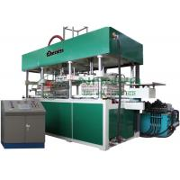 Automatic Tableware Making Machine , 3000Pcs / H Disposable Paper Plates Machine Manufactures