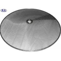 Aluminum / Steel Edge Sintered Metal Filter Disc For Pharmaceutical / Chemical Manufactures