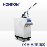 China Fractional Co2 Laser Machine For Acne Skin Rejuvenation / Scar Removal 30W 10600nm on sale