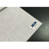 100% Cotton Grey Plain Cloth Natural Cotton Fabric For Home / Hotel Textile Manufactures