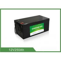 China Long Lasting Reliable 12V250AH Lithium Iron Phosphate Battery , Support Series Connection on sale