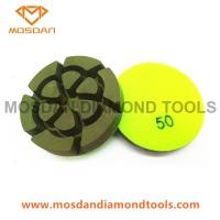 3'' Resin Bond Concrete Polishing Pucks 12mm Thickness Manufactures