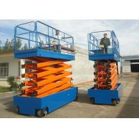 China Self Propelled Hydraulic Scissor Lift Platform , Indoor / Outdoor Mobile Scissor Lift on sale