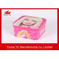 Tinplate Metal Square Candy Gift Tins Manufactures