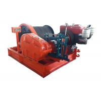 3 Ton Speedy Efficient Mechanical Construction Winch Diesel Engine Powered Manufactures