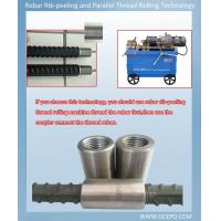 Quality OCEPO Rebar Thread Rolling Machine could customize process 14-40 mm rebar end for sale