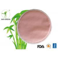 China Pink Washable Bamboo Breast Pads , Grey Round Bamboobies Disposable Nursing Pads on sale
