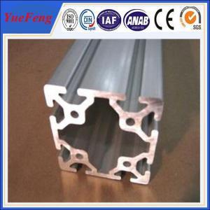 Supply anodized extrusion aluminum profile for industry, aluminium extrusion profiles 6063 Manufactures