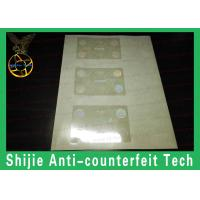 Overlay hologram no bubbles fit the card Safety shipping without UV