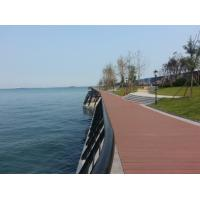 Environmental - Friendly WPC Deck Flooring for Walk Road and Seaside Manufactures