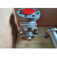 Quality High Flow rate Fisher Gas Regulator EZR Series Pressure Reducing Regulator With for sale