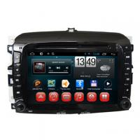 New Fiat 500 Car Video System Fiat Car DVD GPS Navigation Multimedia Steering Wheel Control Support Manufactures