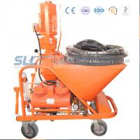 China 30L / Min Dry Mixed Wall Plastering Machine Three Phase With 50L Capacity on sale
