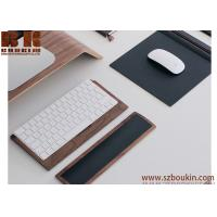 Comfortable to use thoughtful design wooden touchpad diy wooden mouse pad/ pads