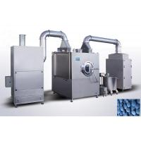 Low Energy  Peanut Coating Machine , Touch Screen Control Tablet Coater Machine Manufactures