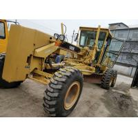 China Diesel Power Used Motor Grader , Caterpillar 140k Motor Grader Second Hand on sale