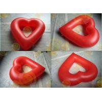 Party Inflatable Advertising Helium Balloons Attractive Red Love Shaped Manufactures