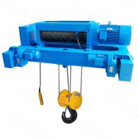JM 8 ton winch electric cable hoist for pulling and lifting material on crane Manufactures