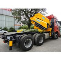 China 30T Folding Boom Truck Crane Middle Size Semi - Knuckle Boom Space Saving Type on sale
