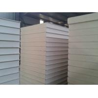 Insulation PU Sandwich Panel , Fireproof PU Wall Panel For Cold Storage