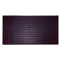 China Outdoor P10 Single Color LED Module 320mmx160mm Size Damp Proof on sale