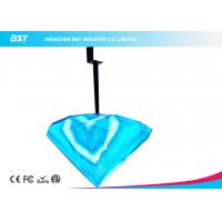 High Resolution Flexible LED Display For Home Hanging Type Diamond Shape Manufactures