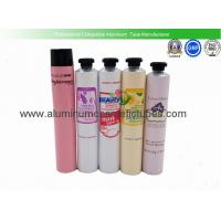 Hair Color Cream  Aluminum Squeeze Tubes Silk Screen Printing Non Spill Eco Friendly Manufactures