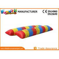 Jumping Sport Games Inflatable Water Toys , Water Blob Inflatable Water Pillow Manufactures