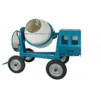 Mini Cement Mixer Rated Overload Concrete Mixer for Cast Iron CogWheel and Rubber Wheels Manufactures